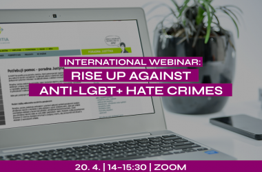 Join our webinar to stand against anti-LGBT+ hate crimes and violence